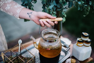 Tea Bar Wedding Inspiration by Lauren Love Photography and Cheryl Sullivan Events 14