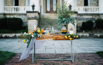 Organic Loose Leaf Tea Wedding Inspiration