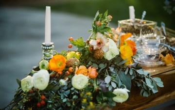 Tea Bar Wedding Inspiration by Lauren Love Photography and Cheryl Sullivan Events 5