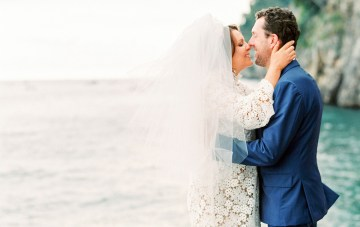 Chic Elopement in Positano