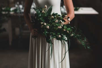 Moody & Modern Warehouse Wedding Inspiration by Jonathan Kuhn Photography 5