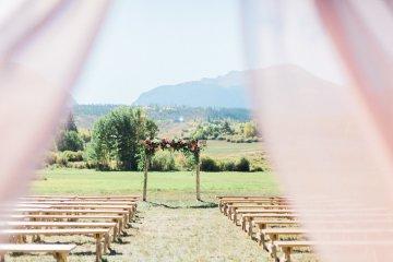 Romantic Jewel-Toned Wedding by Sara Lynn Photography 10