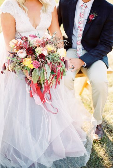 Romantic Jewel-Toned Wedding by Sara Lynn Photography 16