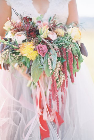 Romantic Jewel-Toned Wedding by Sara Lynn Photography 18