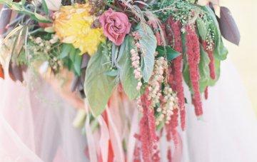 Romantic Jewel-Toned Wedding by Sara Lynn Photography 18