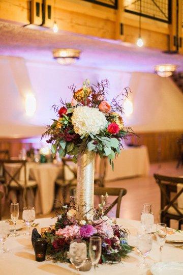 Romantic Jewel-Toned Wedding by Sara Lynn Photography 22