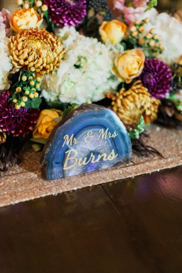 Romantic Jewel-Toned Wedding by Sara Lynn Photography 25