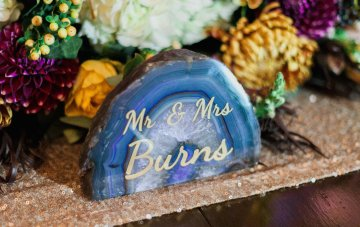 Romantic Jewel-Toned Wedding by Sara Lynn Photography 25