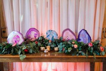 Romantic Jewel-Toned Wedding by Sara Lynn Photography 57