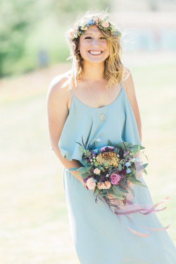 Romantic Jewel-Toned Wedding by Sara Lynn Photography 6
