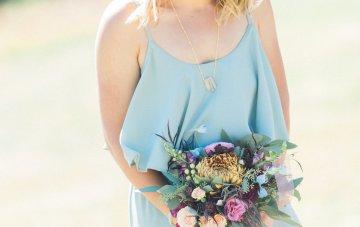 Romantic Jewel-Toned Wedding by Sara Lynn Photography 6