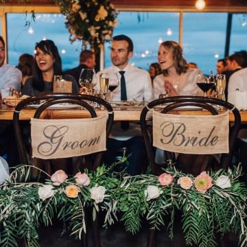 Stylish Barn Wedding by The White Tree Photography 18