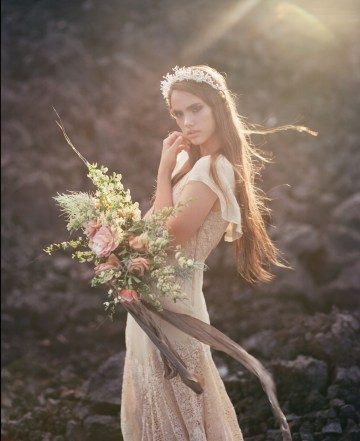 Volcanic Wedding Inspiration by Miesh Photography 8