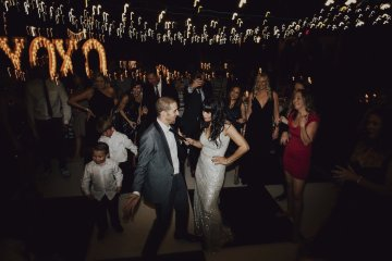 Gorgeous New Year's Eve Wedding by Logan Cole Photography and Seven Stems 18