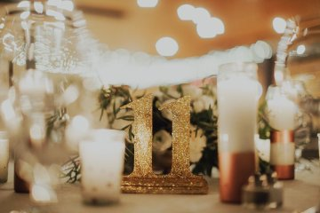 Gorgeous New Year's Eve Wedding by Logan Cole Photography and Seven Stems 43