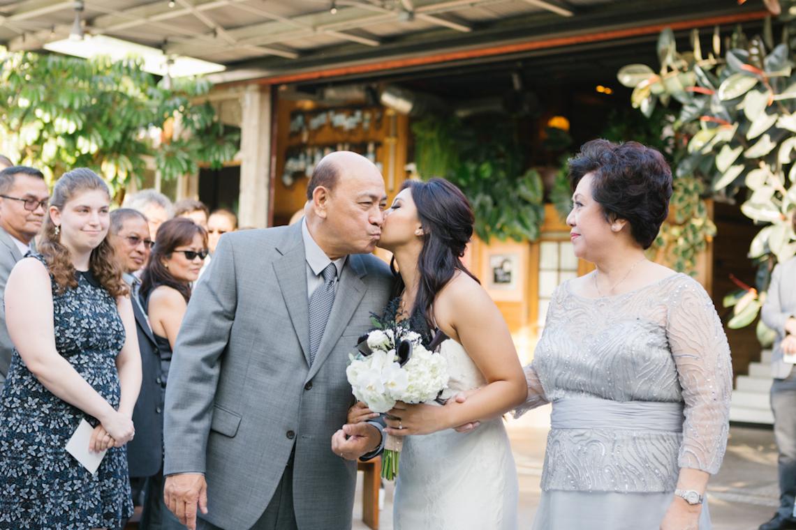 Informal & Authentic Wedding In A Cool LA Venue