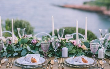 Beautiful Wedding Inspiration from Greece