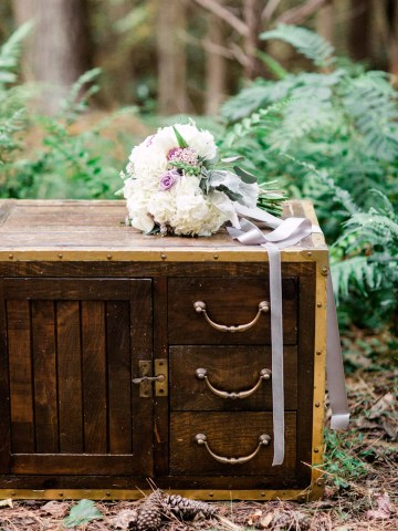 Woodland Wedding Inspiration by Molly Lichten Photography and Jamie Leigh Events 40