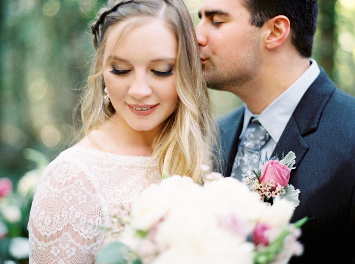 Woodland Wedding Inspiration by Molly Lichten Photography and Jamie Leigh Events 6