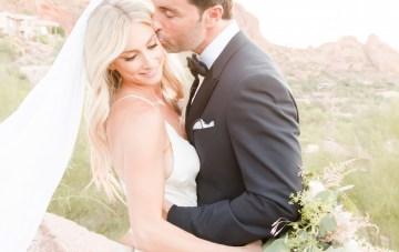 Intimate & Stylish Desert Wedding