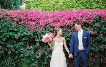 Romantic Garden Wedding in Barcelona