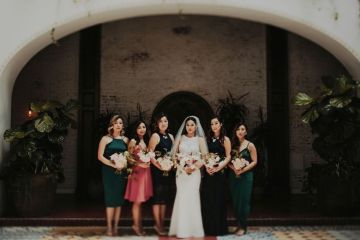 Glamorous & Stylish Wedding by Katie Branch Photography and Jen Kruger Design 13