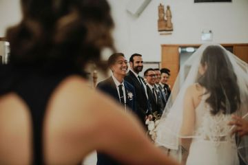 Glamorous & Stylish Wedding by Katie Branch Photography and Jen Kruger Design 22