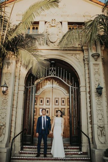 Glamorous & Stylish Wedding by Katie Branch Photography and Jen Kruger Design 76