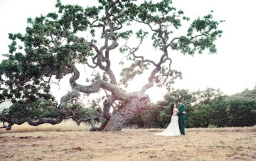Stunning Ranch Wedding in California with Spanish-Inspired Decor