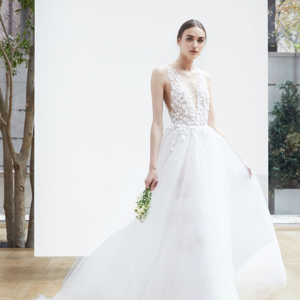 01d7bf109e0 The 11 Best Wedding Looks for Spring 2019 - Fashionista