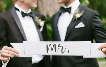 Same Sex Southern Wedding Inspiration by Jenna Henderson and Cedarwood Weddings 2