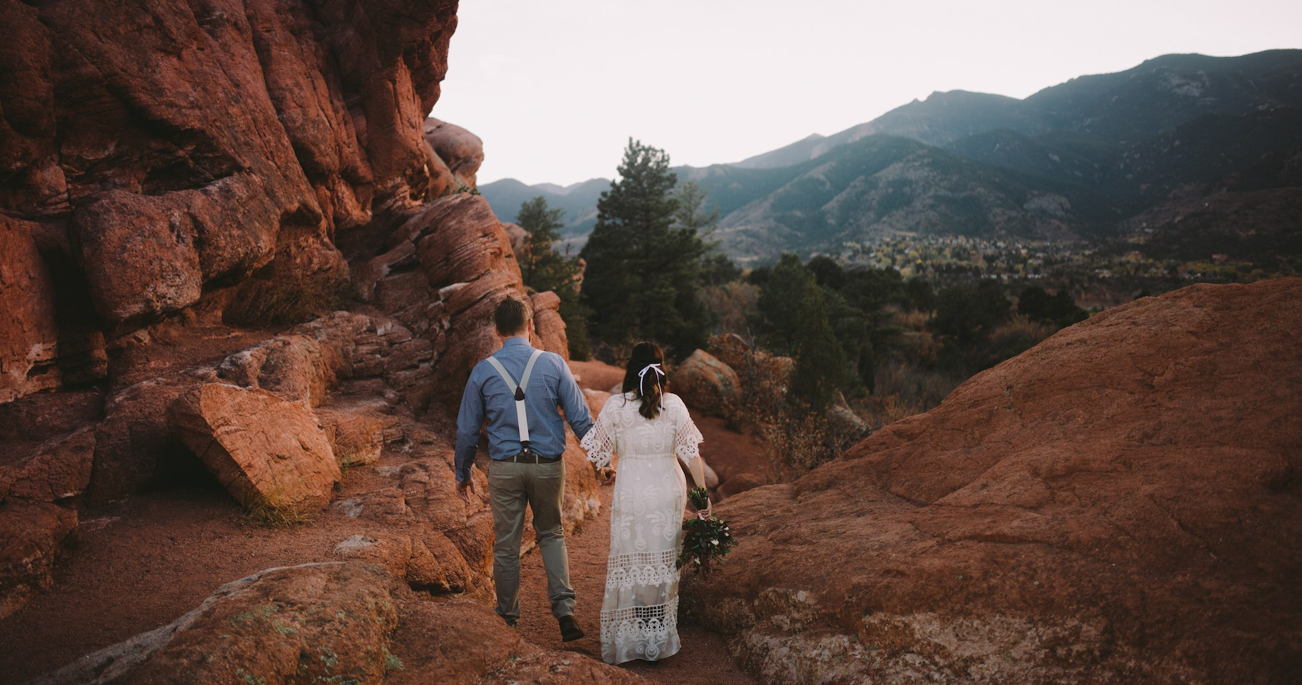 Sunset Elopement by Ashlee Kay Photography 2