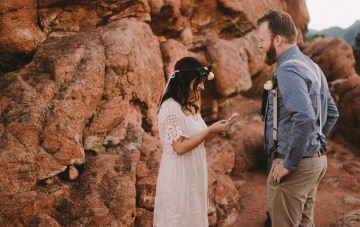 Sunset Elopement by Ashlee Kay Photography 22