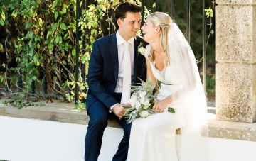 Destination Wedding in Portugal with Citrus Decor