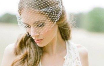 10 Chic Birdcage & Blusher Veils