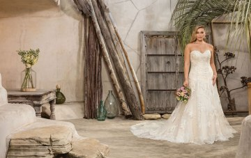 Classic, Contemporary, Versatile; Casablanca Bridal Wedding Dress Collection