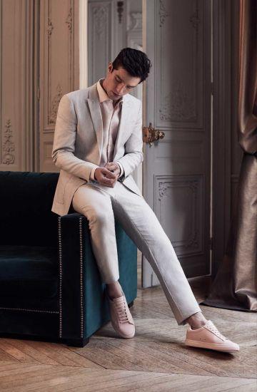 Cream Suit