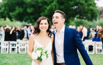 Fun, Laid-Back BBQ Wedding in California