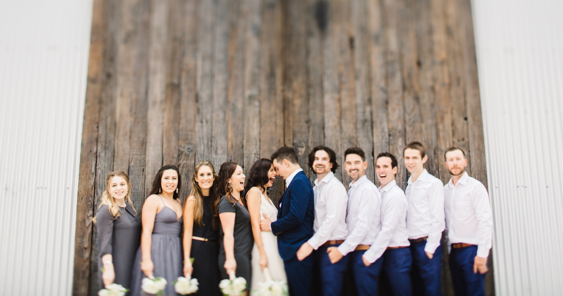 Fun BBQ Wedding by Myke & Teri Photography 3