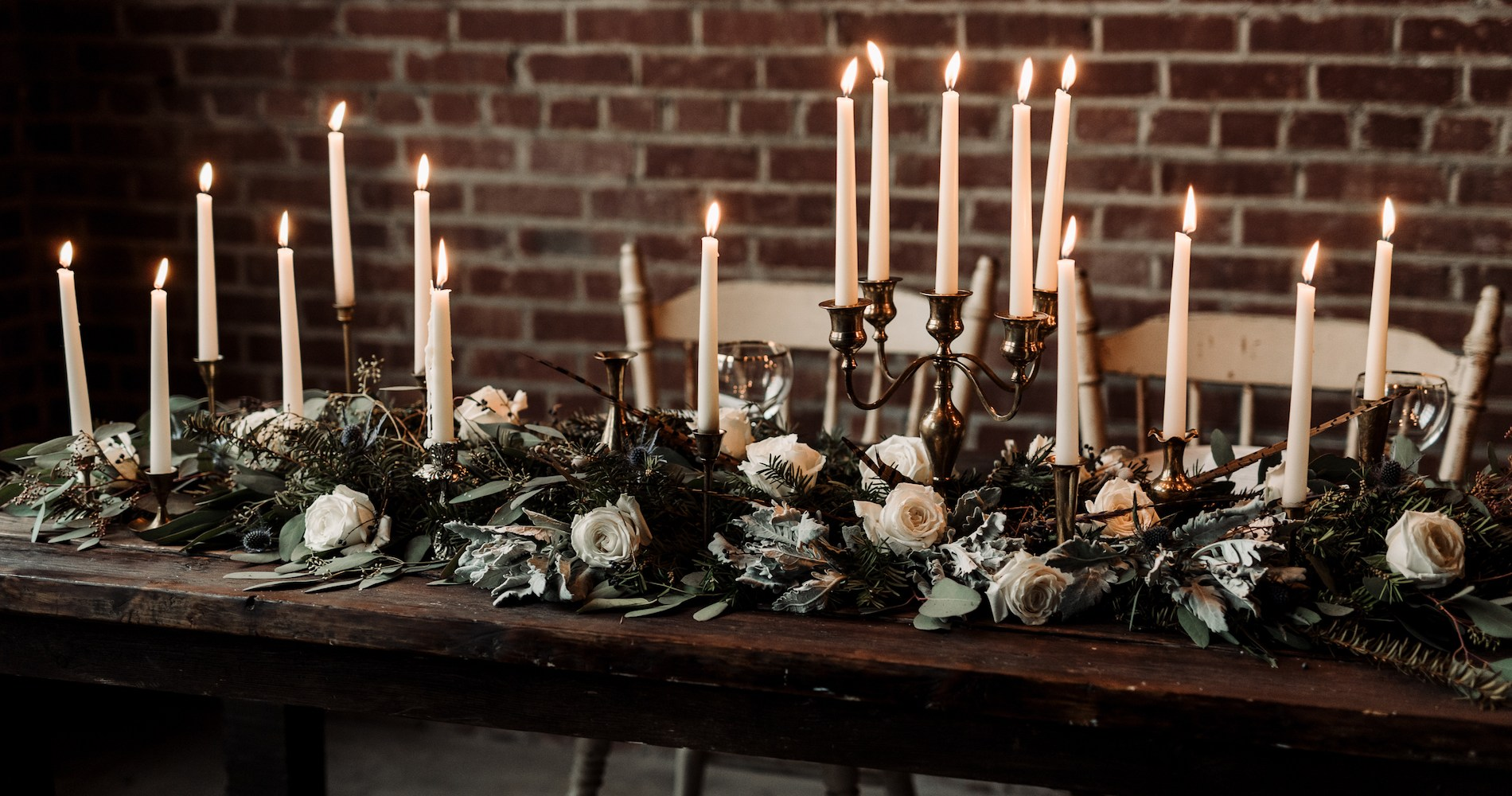 Moody Winter Wedding Inspiration by Kelcy Leigh Photography 1