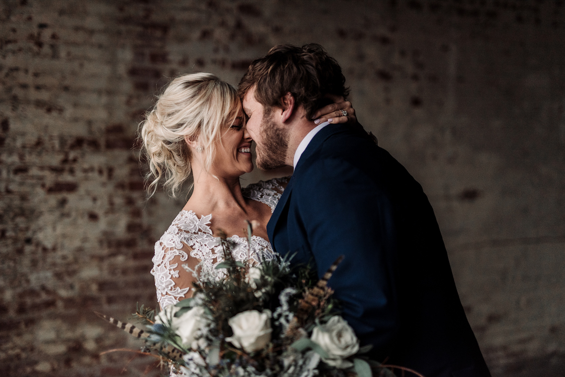 Moody Winter Wedding Inspiration by Kelcy Leigh Photography 22