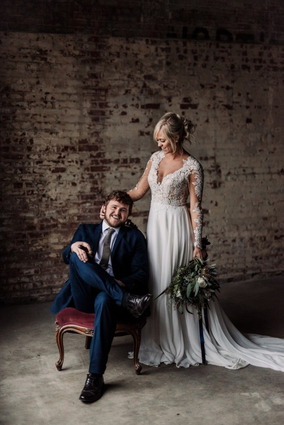 Moody Winter Wedding Inspiration by Kelcy Leigh Photography 24
