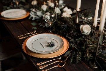 Moody Winter Wedding Inspiration by Kelcy Leigh Photography 33