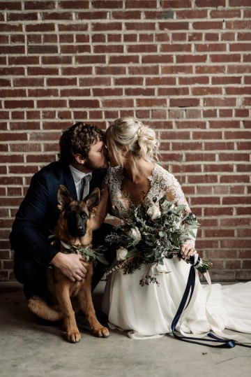 Moody Winter Wedding Inspiration by Kelcy Leigh Photography 34