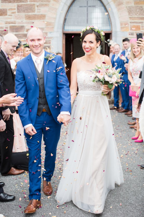 Romantic Irish Wedding by Cecelina Photography 36