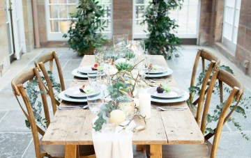 Fine Art Wedding Inspiration in a Beautiful Orangery Setting