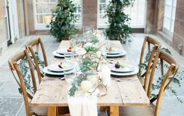 Fine Art Wedding Inspiration in a Beautiful Orangery Setting
