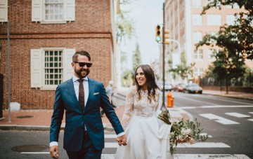 Cool, Stylish & Fun Wedding in Philadelphia with Lots of Meaning