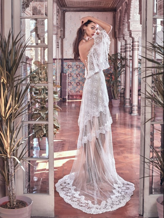 Lizzy back Galia Lahav Wedding Dress Collection 2018 16
