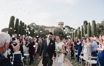 Multicultural Persian and French Destination Wedding in Barcelona